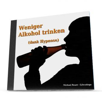 Weniger Alkohol trinken (dank Hypnose) - MP3-Download