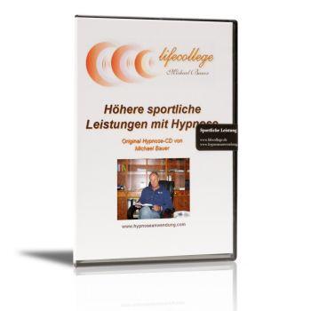 Höhere sportliche Leistungen mit Hypnose - CD