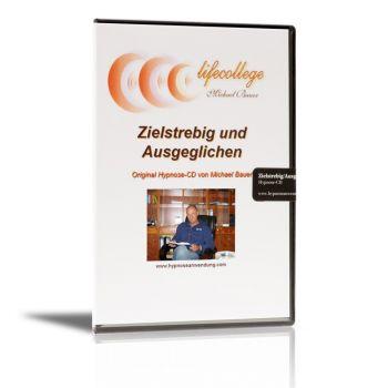 Zielstrebig und Ausgeglichen - Hypnose-CD