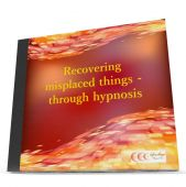 Recovering misplaced things - through hypnosis